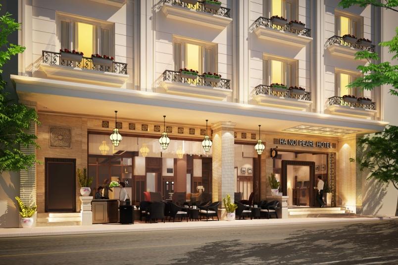 Hanoi pearl hotel hotels info classy travel vietnam for Design boutique hotel hanoi